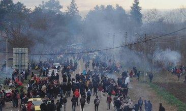 Son dakika: Göçmenler sınırlara akın ediyor! Yunanistan'a gitmek için toplandılar