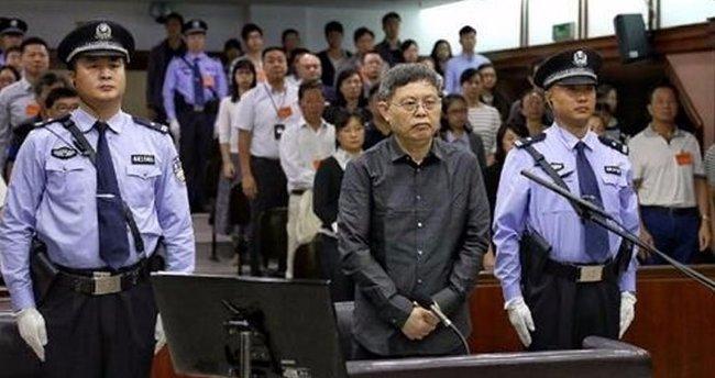 Çin'de vali yardımcısına müebbet