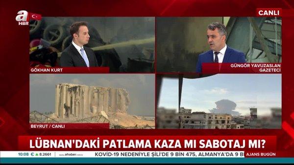 Son dakika haberi: Lübnan'daki, dev patlama sabotaj mı?   Video