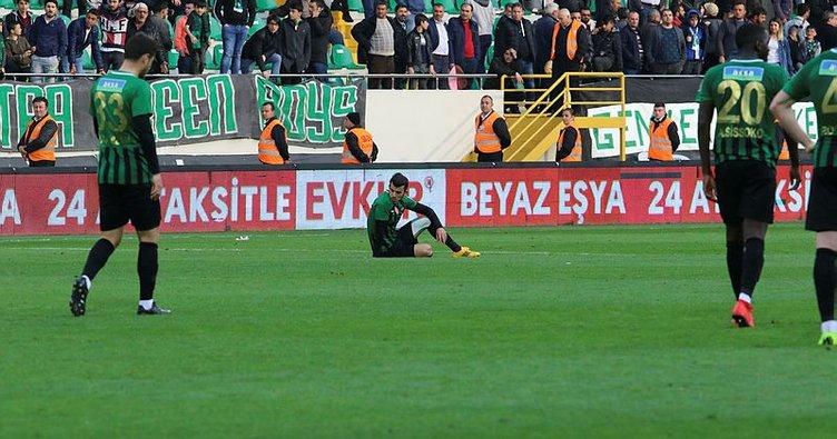 İkinci yarının en başarısız takımı Akhisarspor