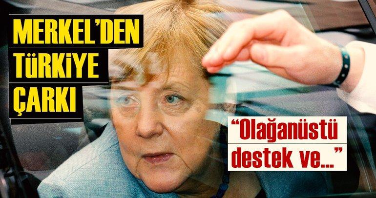 Son dakika: Merkelden Türkiyeye çarkı