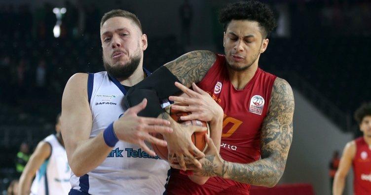 Türk Telekom, Galatasaray'ı kupa dışına itti