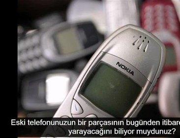 Eski telefonunuzdan bakın nasıl...