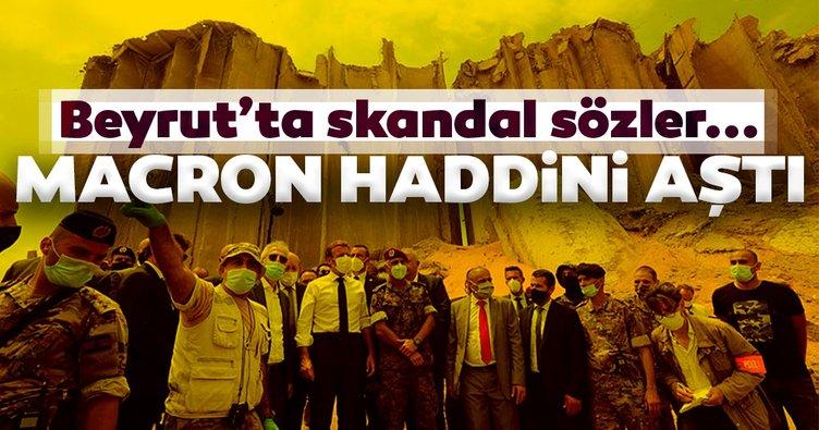 Macron'dan Türkiye hakkında skandal sözler! Haddini aştı