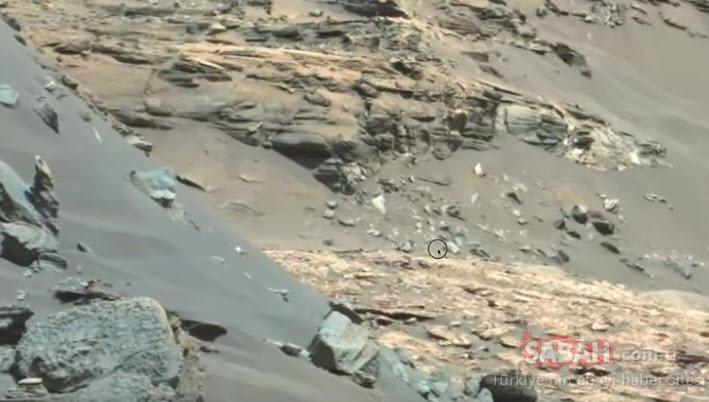 NASA'daki yetkililer bile fark etmedi! Curiosity'nin keşfi kan dondurdu