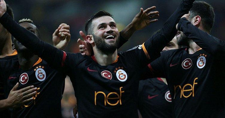 Ömer Bayram, Galatasaray formasıyla ilk golünü attı