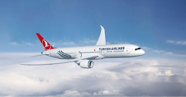 Rüya uçak İstanbul'a geldi