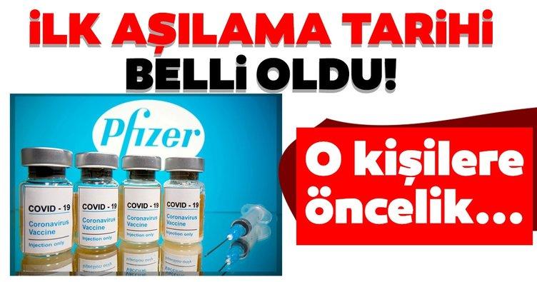 Son dakika haberi: Pfizer ve BioNTech'in corona virüs aşısında yeni gelişme! O tarihte başlayacak...
