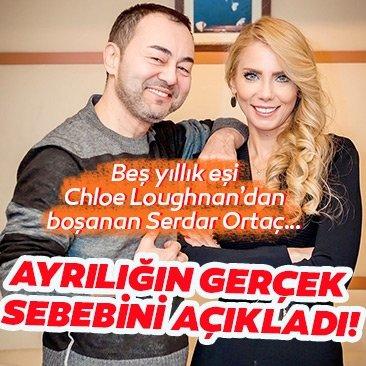 Beş yıllık eşi Chloe Loughnan'dan boşanan Serdar Ortaç… Ayrılığın gerçek sebebini açıkladı!