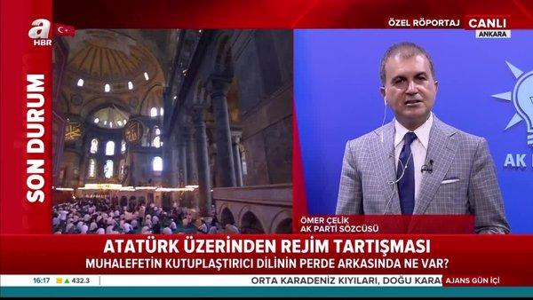 Son Dakika: AK Parti sözcüsüÖmer Çelik'ten muhalefetin kutuplaştırıcı diline sert tepki | Video