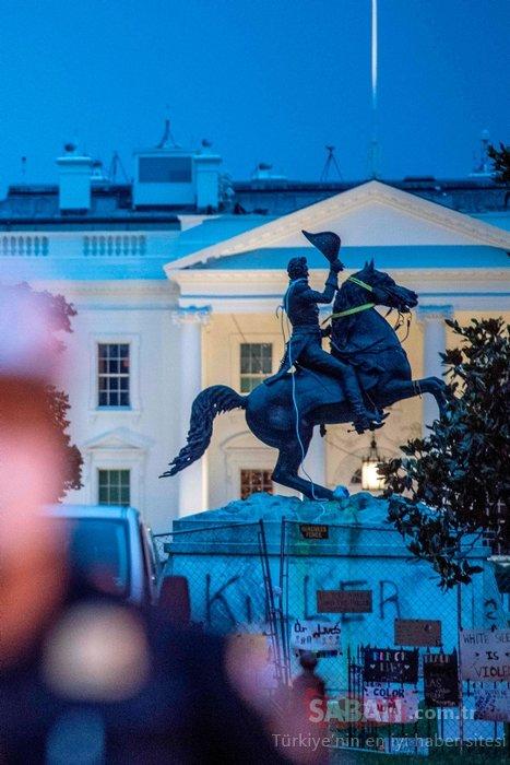 Son dakika: ABD'den şoke eden bilgiler! Beyaz Saray önünde...
