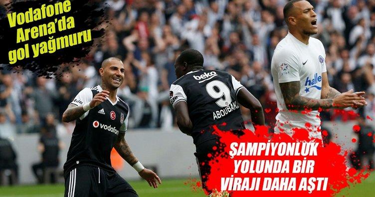 Beşiktaş şampiyonluk yolunda bir kritik virajı daha geçti