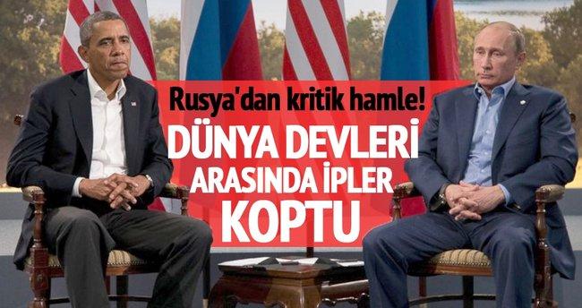 Rusya ve ABD arasında ipler koptu