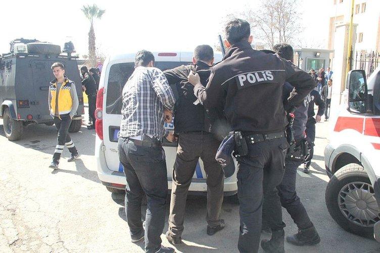Şanlıurfa adliyesi'nde kavga: 3'ü polis 6 yaralı