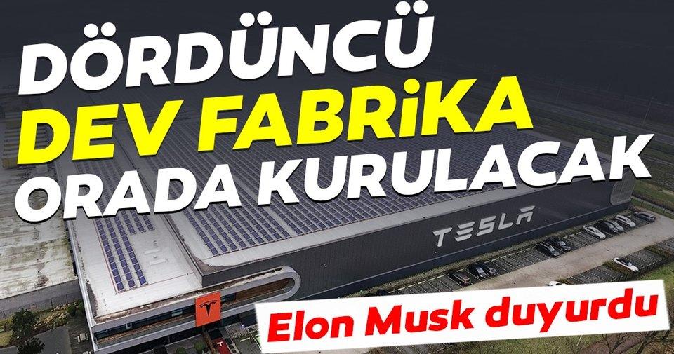 Musk: Tesla'nın dördüncü 'dev fabrika'sı Berlin'de kurulacak