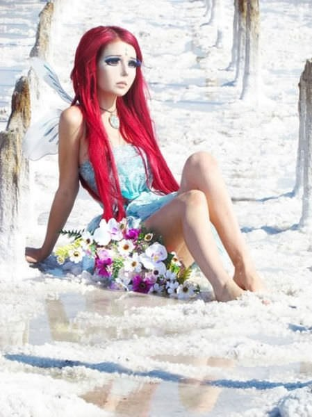 O da Ukraynalı Barbie kız
