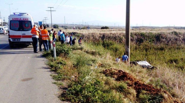Kahreden kaza! Öğretmen anne baba öldü, 2 yaşındaki çocukları yaralı kurtuldu...