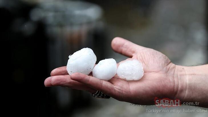 Bursa ve Yalova'da dolu yağışı var mı? Bugün Yalova ve Bursa'da dolu yağacak mı?