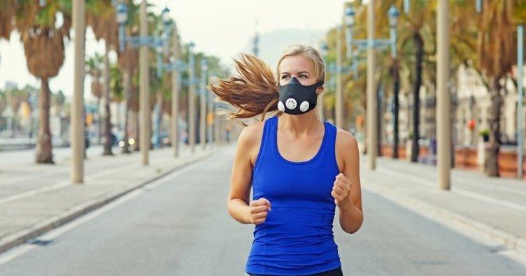 Açık havada spor yapanlara maske uyarısı