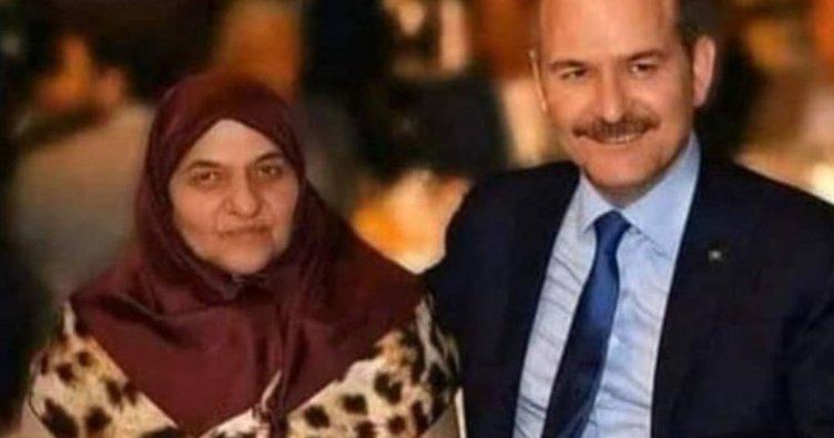 Bakan Soylu: Annemle fotomun altına küfreden alçak adli kontrolle serbest