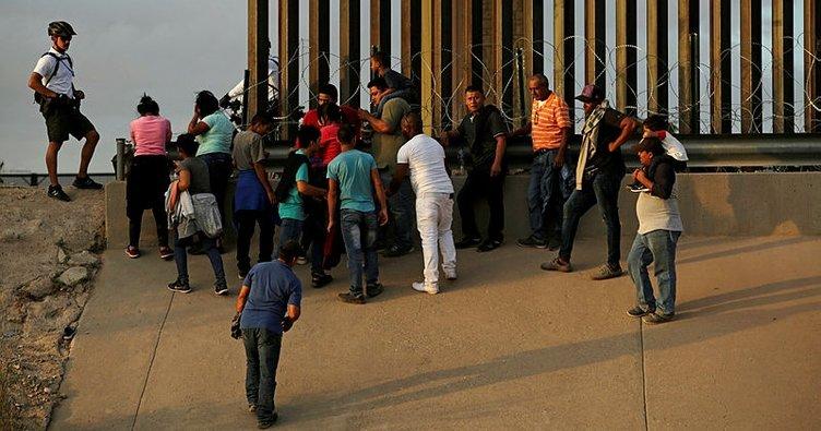 ABD'den Meksika'ya gönderilen göçmenler