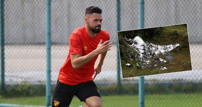 Göztepe'nin yeni transferi Lourency, Chapecoense'nin uçak kazasını unutamıyor