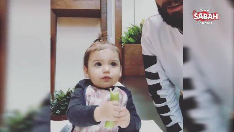 Berkay söyledi kızı Arya ağladı!