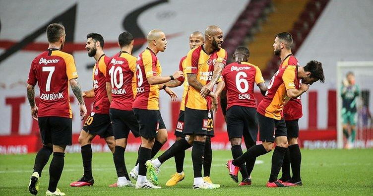 Galatasaray 8 maç sonra kazandı