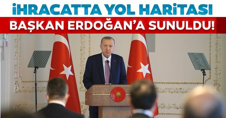 Son dakika: TİM, Başkan Erdoğan'a yeni ihracat seferberliğinde yol haritasını sundu