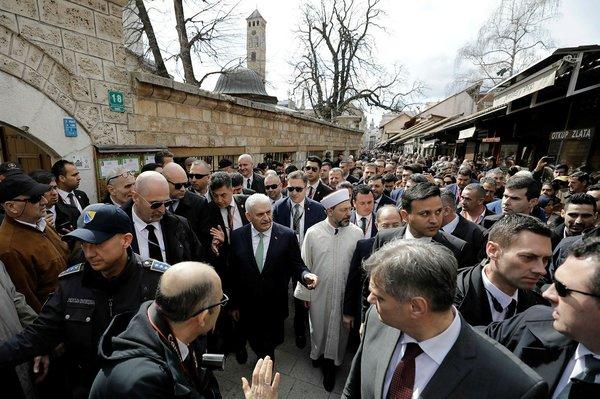 Başbakan Binali Yıldırım'ın Bosna Hersek gezisinden yansıyan kareleri