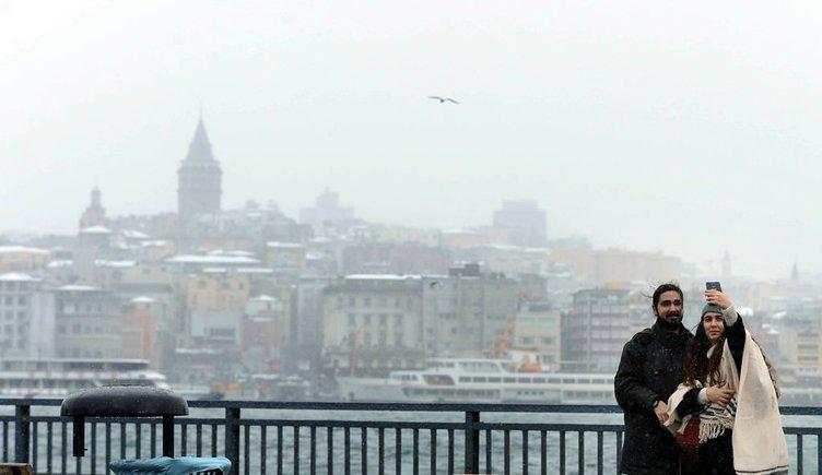 İstanbul'da kar manzaraları - 18 Ocak 2016