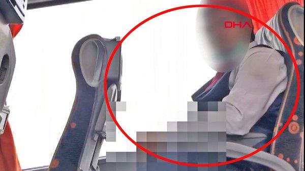 Son dakika! Otobüste genç kıza sapık muavin tacizi! İğrenç olayın görüntüleri sosyal medyada olay oldu | Video