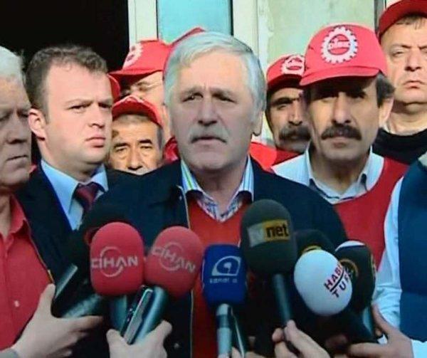 İşçiler 32 yıl sonra Taksim'de