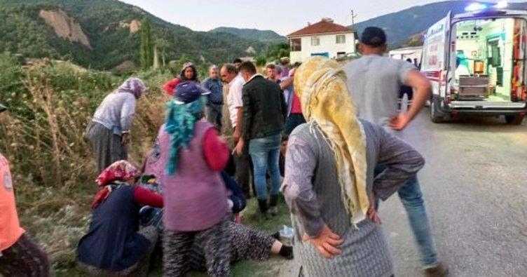 Manisa'da feci kaza: Yaralılar var!