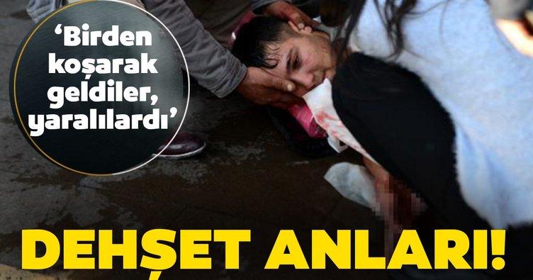Adana'da dehşet anları! İlk müdahaleyi bölgeden geçen sağlıkçılar yaptı