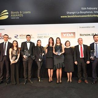 """""""2018 Türkiye Bonds amp;amp; Loans Ödülleri"""" sahiplerini buldu"""