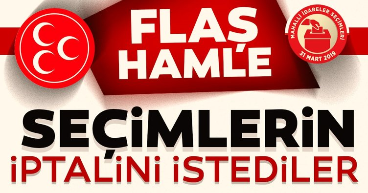 Son Dakika Haberi: MHP'den İstanbul için flaş hamle