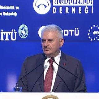 Başbakan Yıldırım Bilgi Güveliği Konferansında konuştu