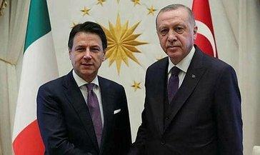 SON DAKİKA HABERİ: Başkan Erdoğan İtalya Başbakanı Conte ile görüştü