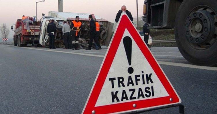 Antalya'da trafik kazası: 1 yaralı!