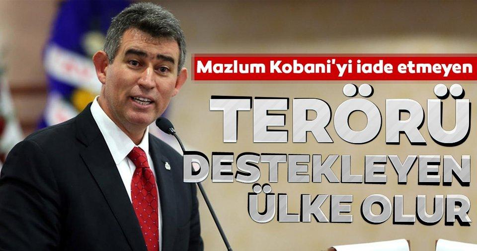 TBB Başkanı Metin Feyzioğlu: Mazlum Kobani'yi iade etmeyen terörü destekleyen ülke olur