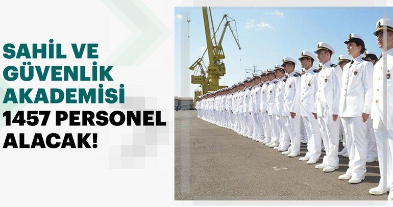 Jandarma Ve Sahil Güvenlik Akademisi 1457 askeri personel alım ilanı yayımladı