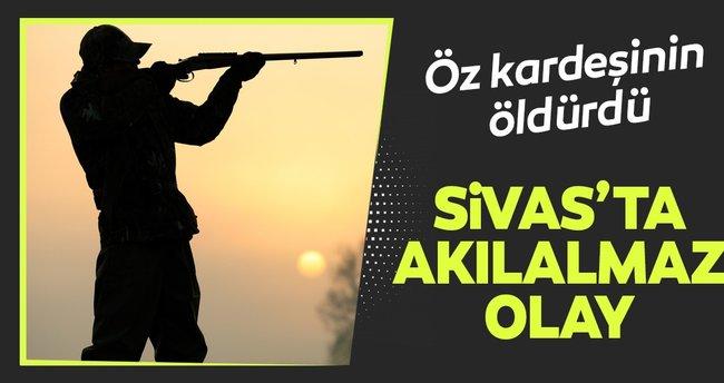 Sivas'ta akılalmaz olay... Öz kardeşini öldürdü