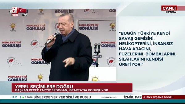 Cumhurbaşkanı Erdoğan: Savunma Sanayinde yüzde 80 yurt dışına bağımlıydık bunu yüzde 35'e düşürdük