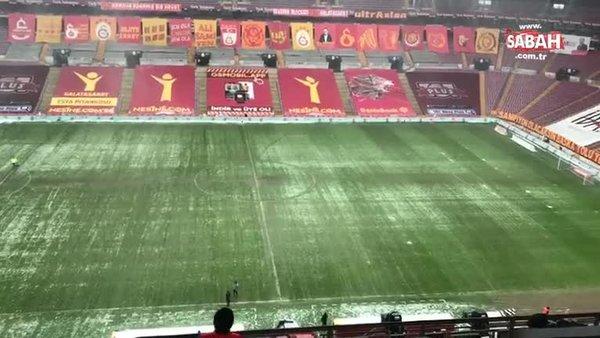 Galatasaray Kasımpaşa maçı oynanacak mı? İşte Türk Telekom Stadyumu'nun şu andaki durumu | Video