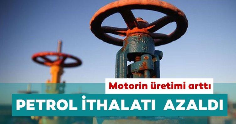 Türkiye'nin petrol ithalatı ağustosta yüzde 29,8 azaldı