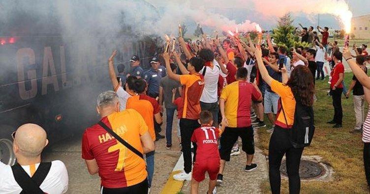 Galatasaray'a Radamel Falcaolu karşılama