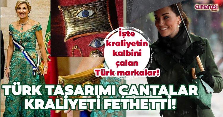 Türk tasarımı çantalar kraliyeti fethetti!