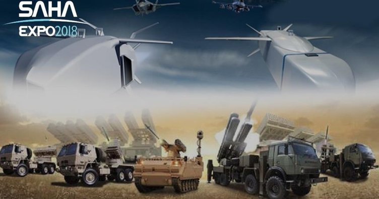 Yerli savunma sanayi 'SAHA'ya çıkıyor