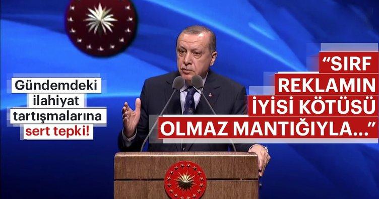 Cumhurbaşkanı Erdoğan'dan o isimlere çok sert tepki